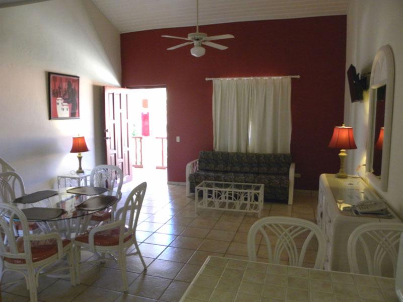 Kitchen To Door Open Door Brighter Aruba Quality Apartments
