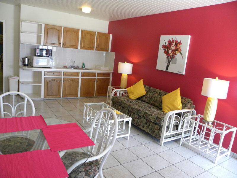 Sofa Amp Kitchen 154 Aruba Quality Apartments